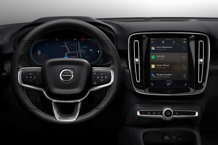 """Электромобиль Volvo XC40 первым получит новый медиацентр на базе Android"""""""