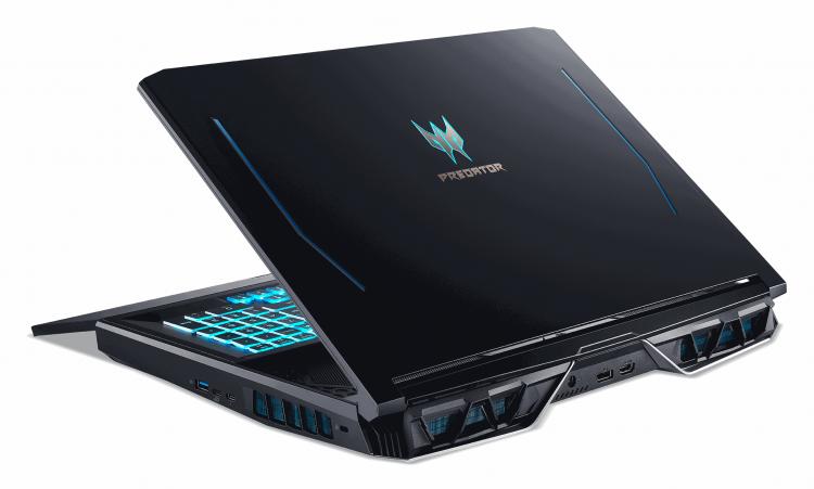 """В России поступил в продажу игровой ноутбук Acer Predator Helios 700 с выдвижной клавиатурой"""""""