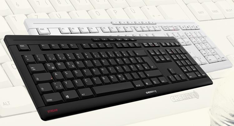 """Новая клавиатура Cherry Stream снабжена набором дополнительных кнопок"""""""