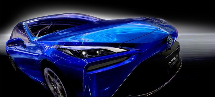 """Новый водородный автомобиль Toyota Mirai удивляет внешностью"""""""