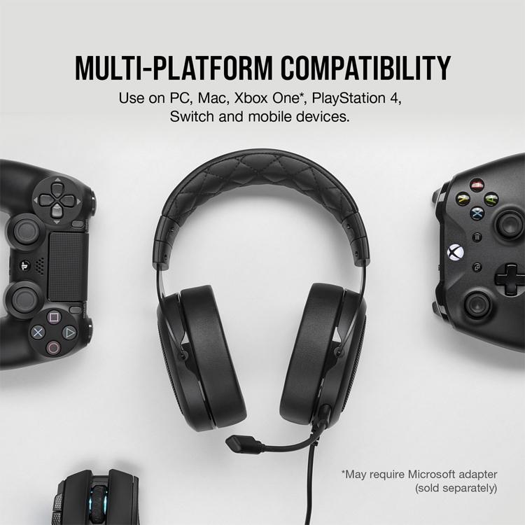 """Трио игровых гарнитур Corsair HS Pro Series для компьютеров и консолей"""""""