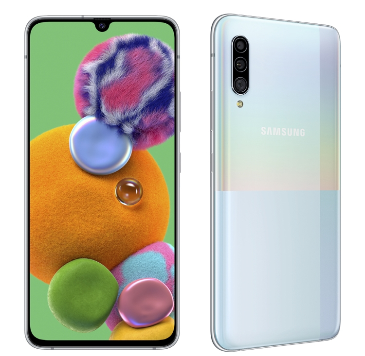 "Полностью рассекречен смартфон Galaxy A91: экран Full HD+ Infinity-U и тройная камера"""