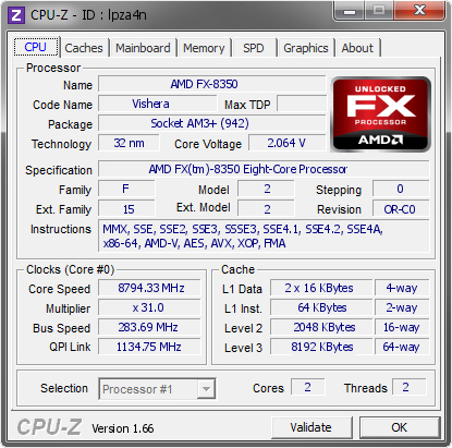 """AMD FX-8350 на частоте 8794 МГц: история забытого рекорда"""""""