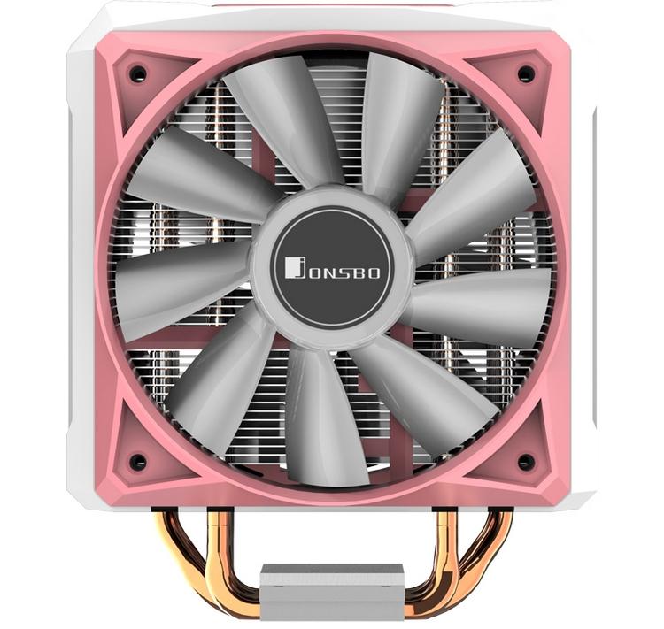 Кулер Jonsbo CR-1100 с RGB-подсветкой выйдет в чёрной и розовой версиях