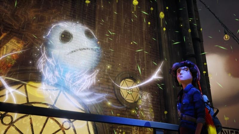 Дух по прозвищу Луна — бессменный помощник главного героя