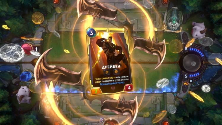 Legends of Runeterra — коллекционная карточная игра во вселенной League of Legends