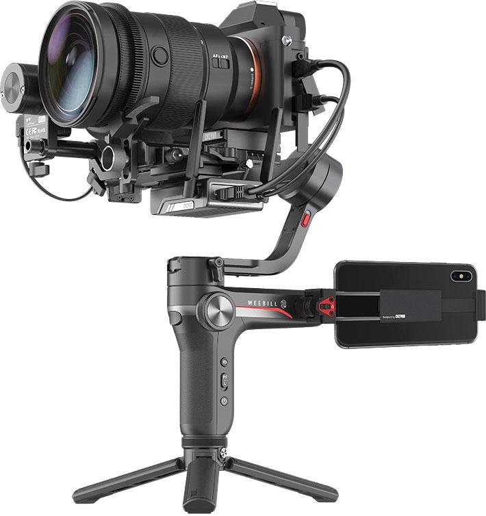 """Zhiyun WEEBILL-S — компактный 3-осный стабилизатор для системных камер"""""""