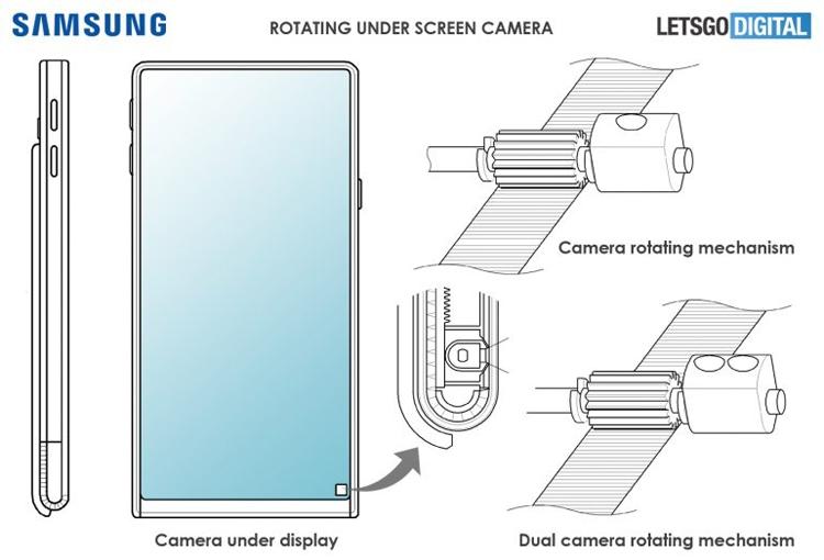 """Samsung проектирует смартфон-слайдер с поворотной камерой"""""""