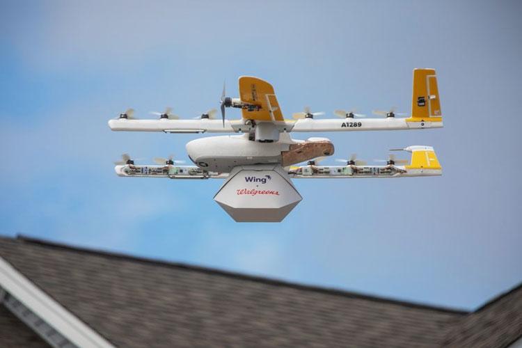 """Первый пошёл: Alphabet Wing обслужила первый заказ по доставке дронами"""""""