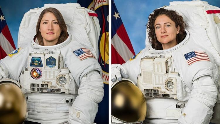 """Впервые в истории космонавтики две женщины-астронавта вышли в открытый космос"""""""