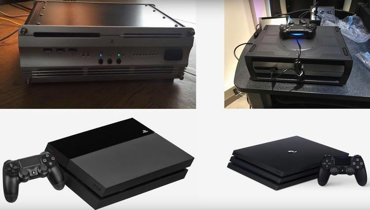 Комплекты разработчиков и финальные версии PS4 и PS4 Pro
