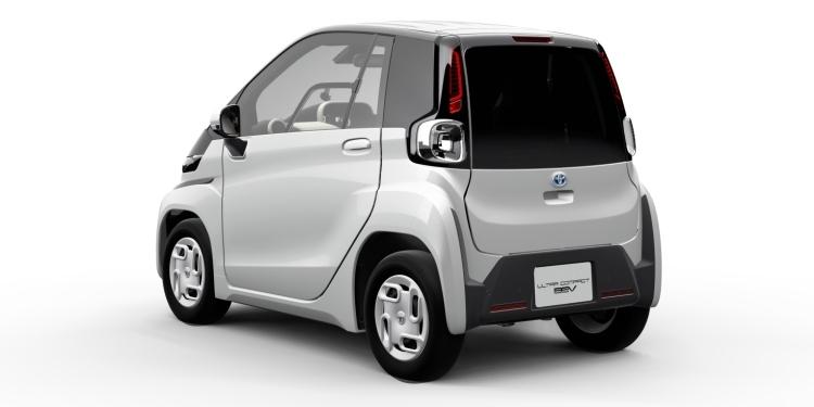 """Toyota представит ультракомпактный электромобиль на автосалоне в Токио"""""""