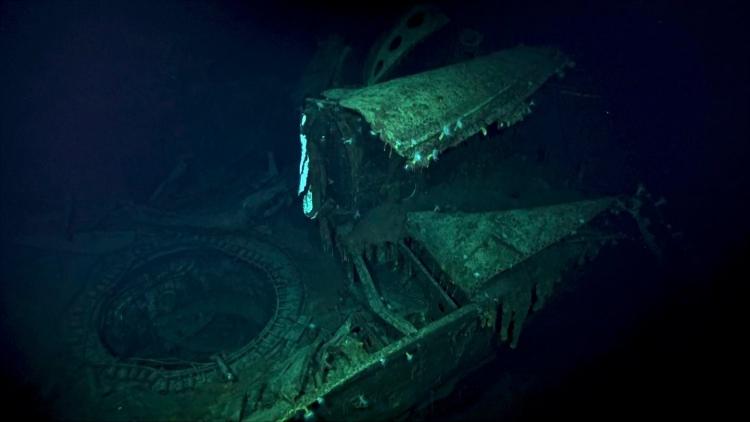 """Подводный дрон с сонаром помог найти японский авианосец периода Второй мировой войны"""""""