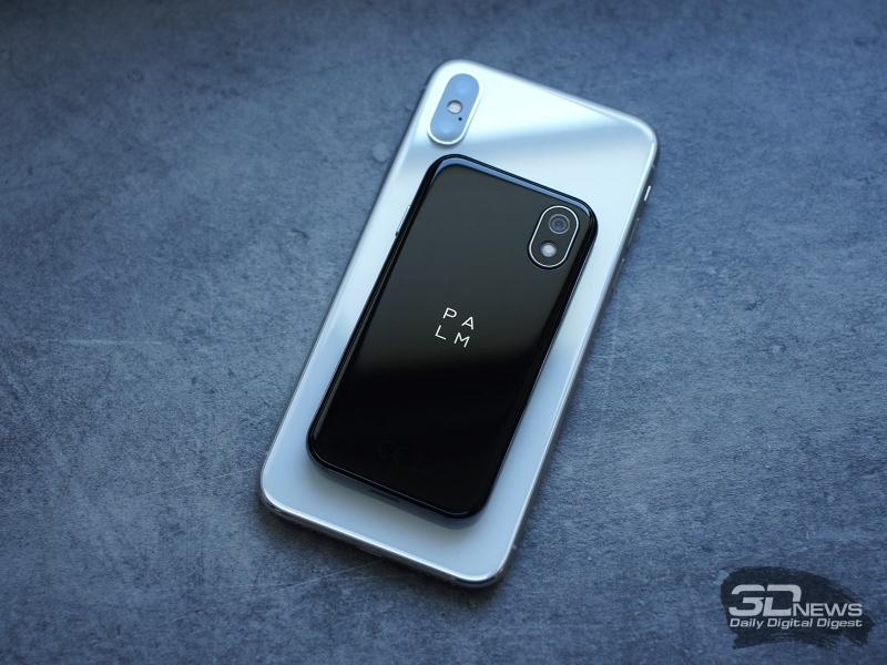 Palm PVG100 в сравнении с iPhone X