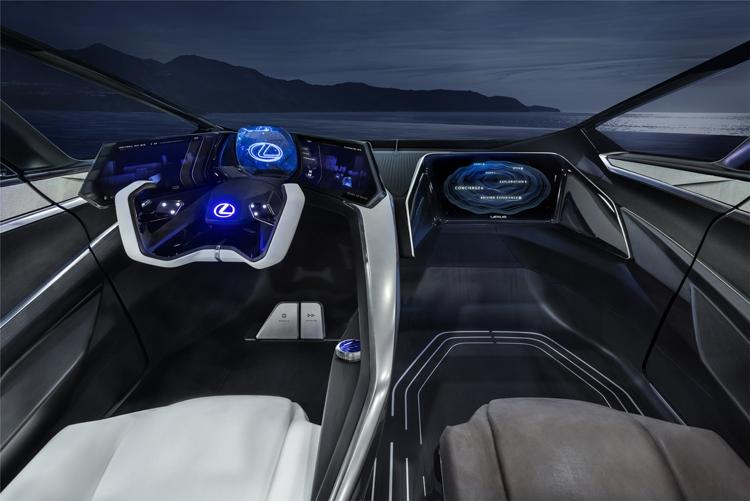 """Электрический концепт Lexus LF-30 Electrified обладает запасом хода в 500 км"""""""
