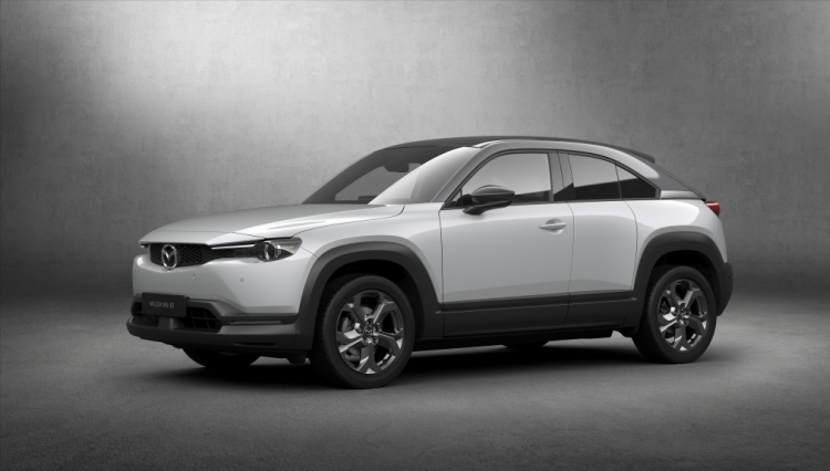 """Mazda представила первый серийный электромобиль MX-30"""""""