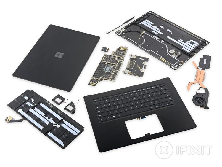 """Вскрытие Microsoft Surface Laptop 3: ноутбук вполне ремонтопригоден"""""""