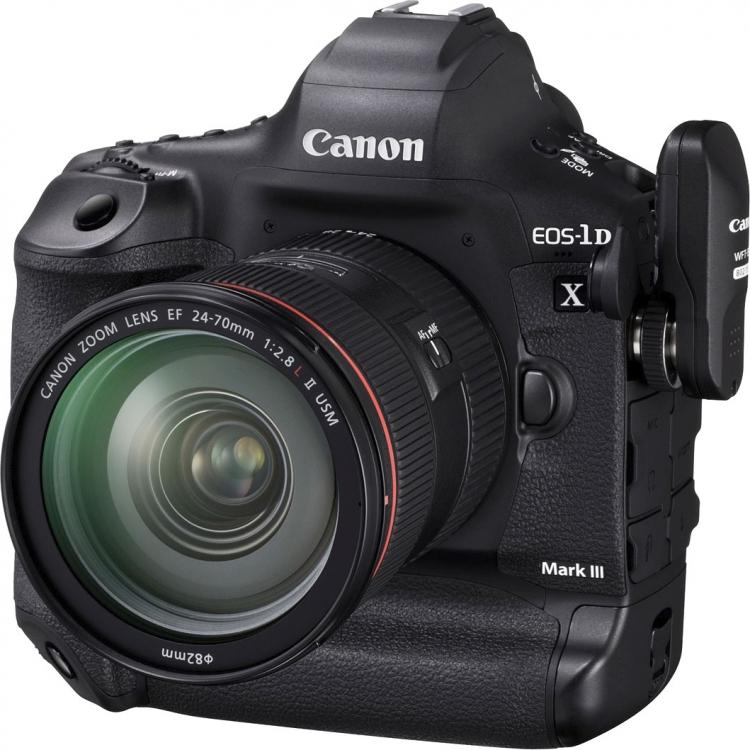 Canon в EOS-1D X Mark III добавит поддержку 10-бит фото HEIF и 10-бит видео 4K