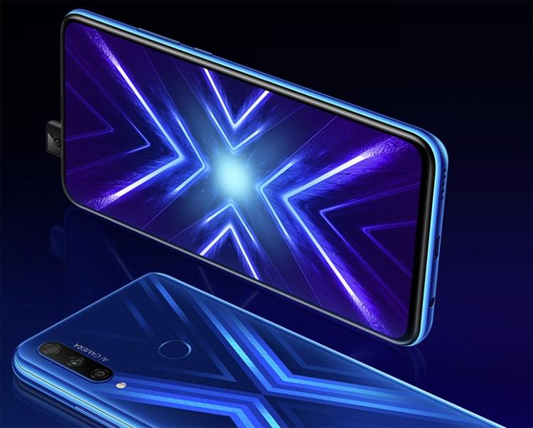 """Анонс смартфона Honor 9X: двойная или тройная камера на выбор покупателя"""""""
