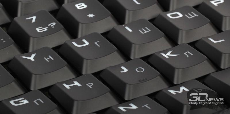 Внешний вид клавиш