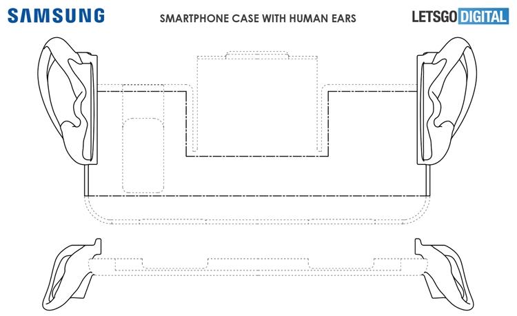 """В Samsung изобрели «ушастый» чехол для смартфона"""""""