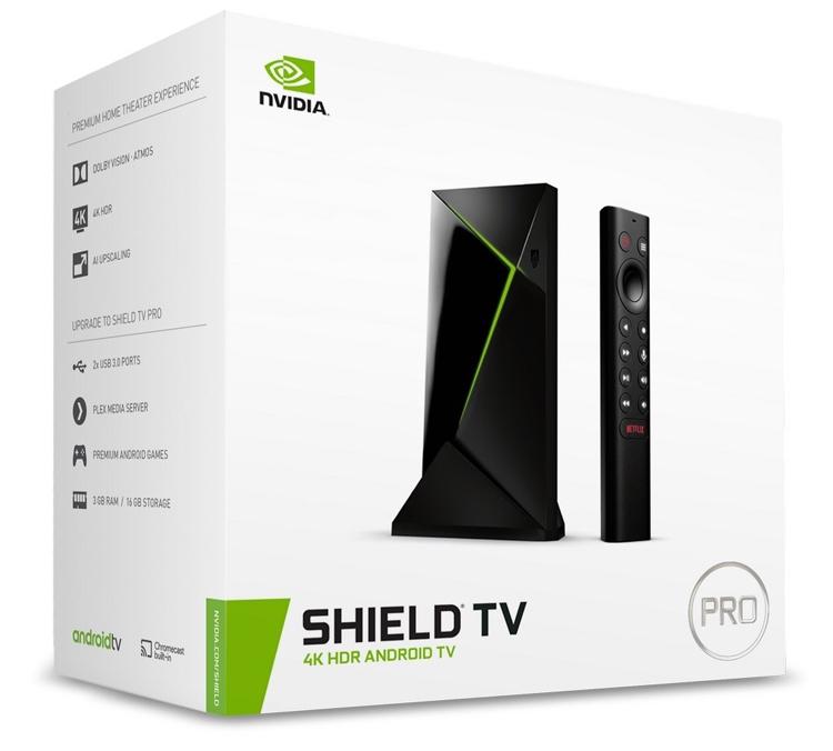 "NVIDIA Shield TV нового поколения: чип Tegra X1+, поддержка Dolby Vision HDR и HDR10"""