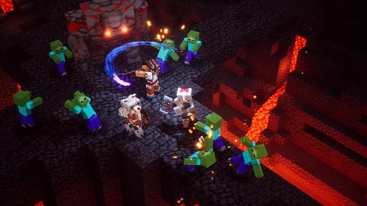 "Minecraft Dungeons начиналась как проект для Nintendo 3DS"""