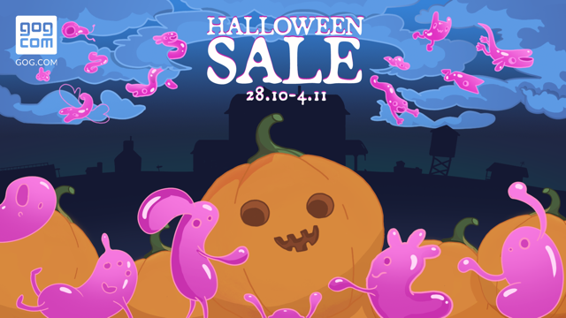 """Хэллоуин постучался в двери GOG.com: более 300 предложений со скидкой до 90 %"""""""