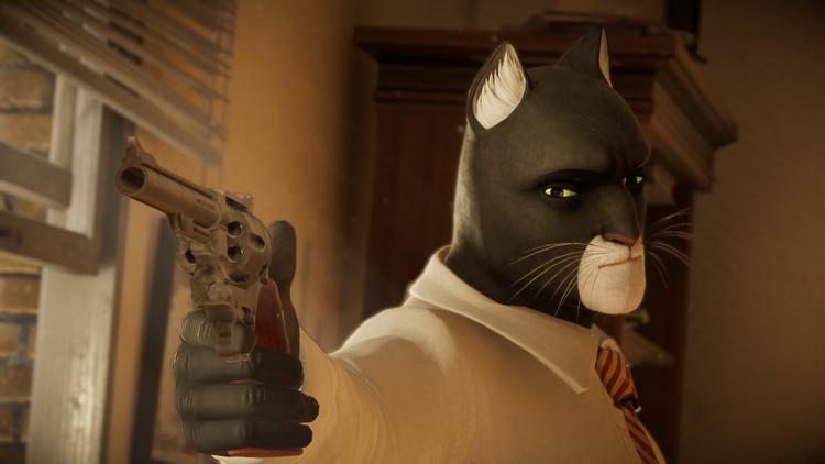 """Видео: следствие ведёт чёрный кот в геймплейном ролике Blacksad: Under the Skin"""""""