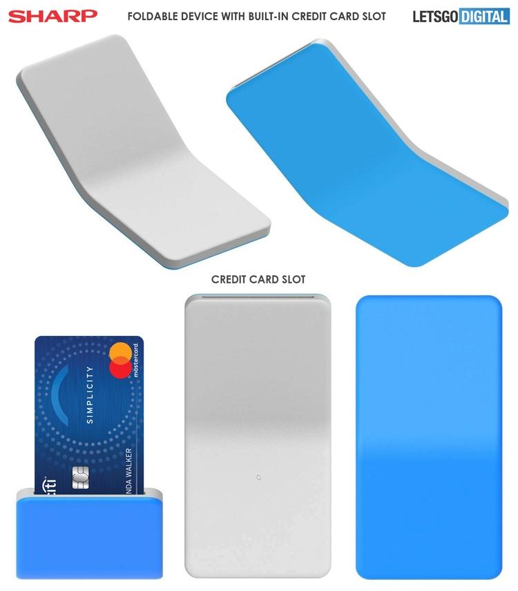 """Sharp проектирует гибкие смартфоны с нестандартной функциональностью"""""""