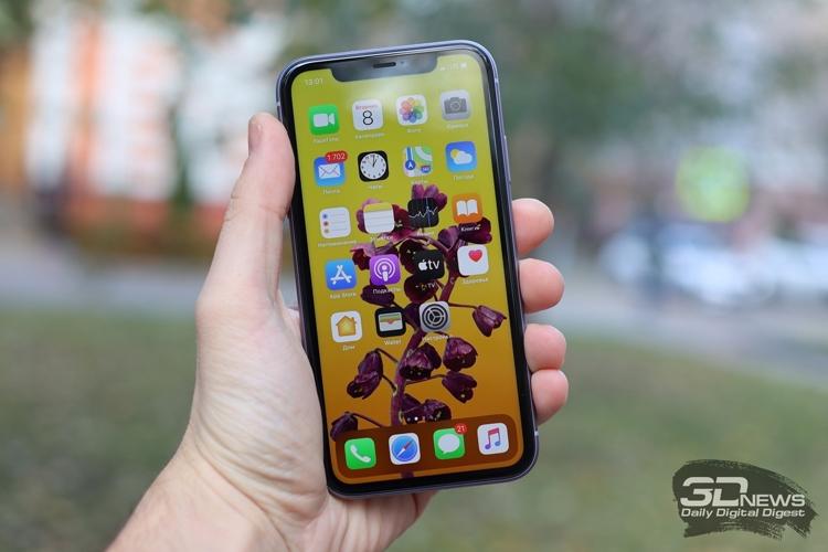 """Смартфонам iPhone следующего поколения приписывают 120-Гц дисплей"""""""