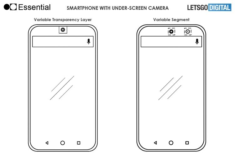 """Essential рассчитывает спрятать селфи-камеру смартфона за экран"""""""