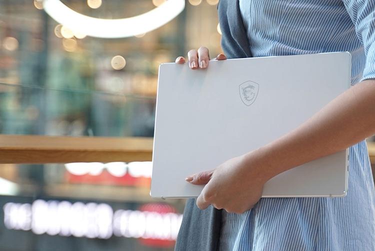 """Зима на пороге: новый ноутбук MSI Prestige 14 выполнен в белоснежном корпусе"""""""