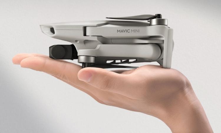 "DJI представила свой самый компактный дрон — Mavic Mini"""