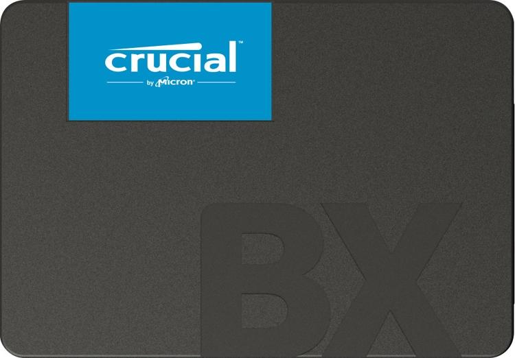 """В семействе SSD-накопителей Crucial BX500 появились модели ёмкостью до 2 Тбайт"""""""
