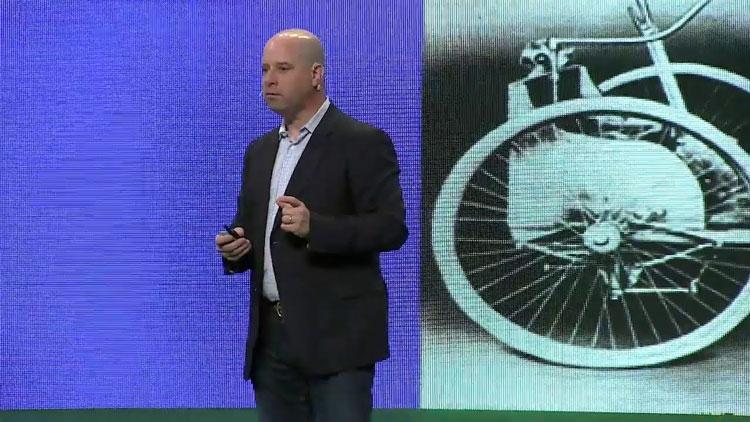 Амир Фейнтух (Amir Faintuch) на одном из мероприятий Intel