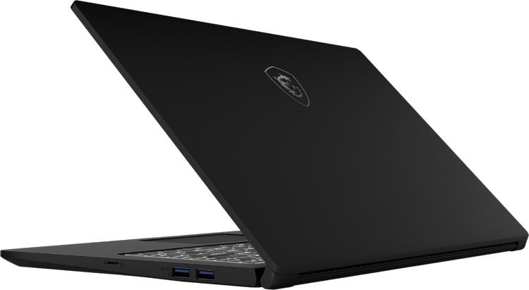Ноутбук MSI Modern 15 с ускорителем GeForce MX250 весит 1,6 кг