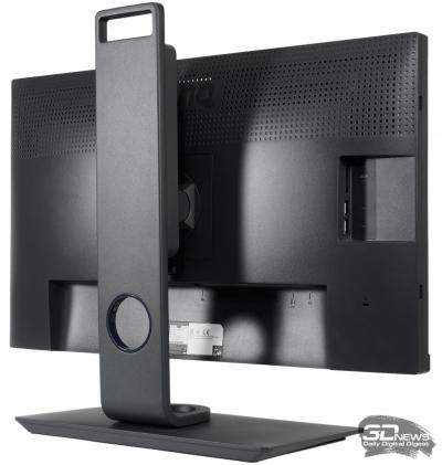 Обзор и тест монитора BenQ SW2700PT — Эргономика и подключение