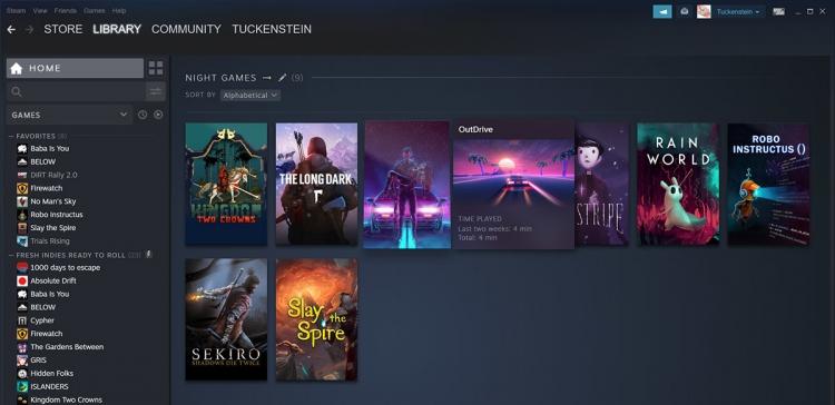 """Новая библиотека Steam стала доступна всем"""""""