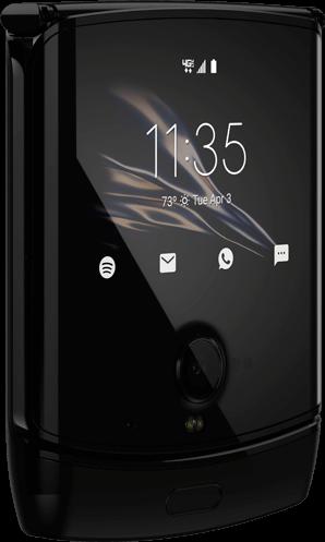 "Фото дня: гибкий смартфон Motorola RAZR во всей красе"""