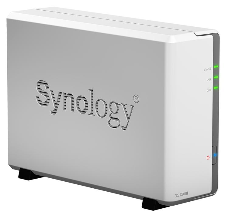 """Synology DiskStation DS120j: внешнее хранилище с поддержкой одного накопителя"""""""