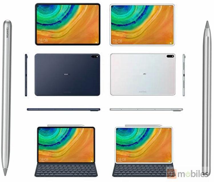 """Следующий планшет Huawei выглядит как iPad Pro"""""""