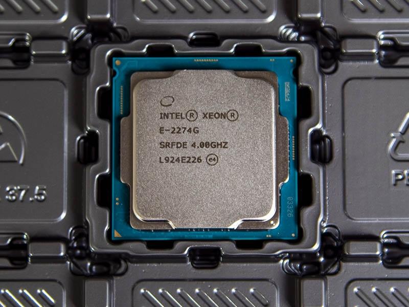 Пример маркировки Xeon E-2200. Источник: ServeTheHome.com