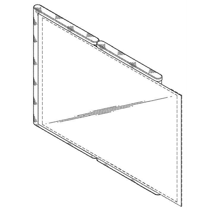 "В Samsung придумали смартфон с гибким дисплеем, не помещающимся в корпус"""