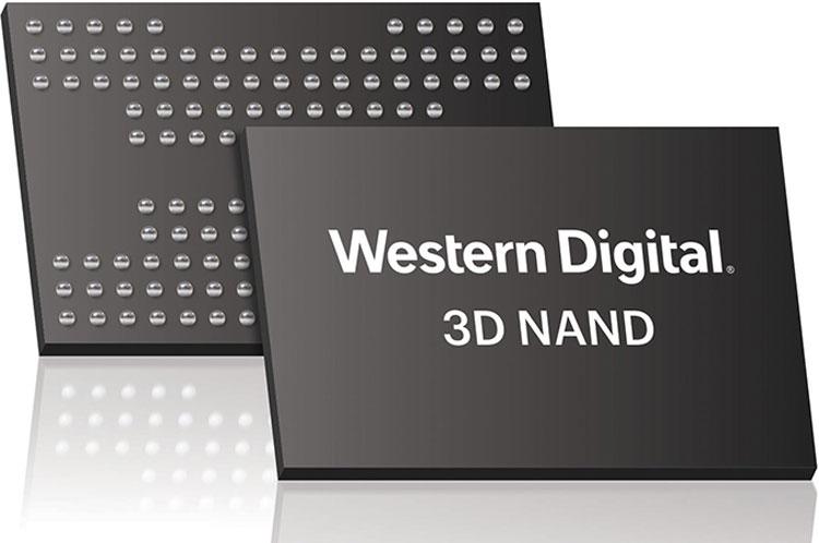 """Western Digital начала поставки накопителей на 96-слойной памяти 3D NAND QLC"""""""