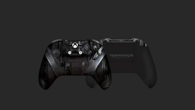 """Microsoft представила консоль Xbox One X с расплавленным черепом терминатора"""""""
