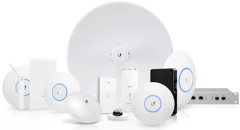 Компания Ubiquiti Networks выпускает целый спектр оборудования для беспроводных сетей