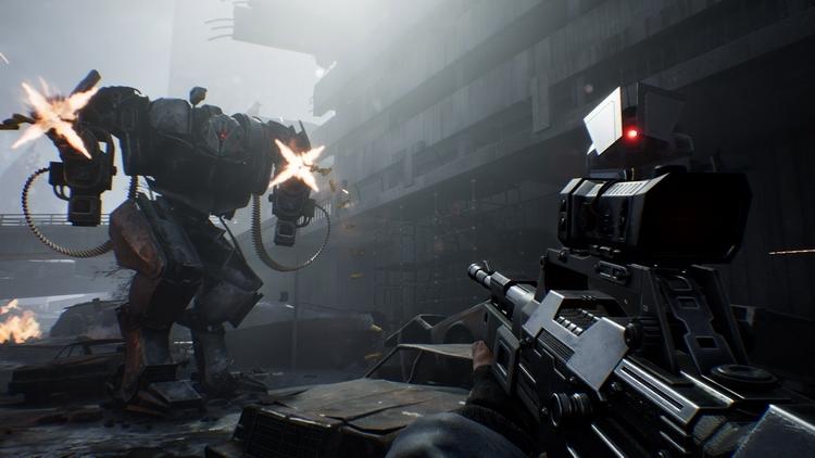 """Видео: кинематографичный и геймплейный трейлеры шутера Terminator: Resistance"""""""