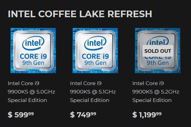 Статистика разгона Core i9-9900KS: не отлично, но и не ужасно