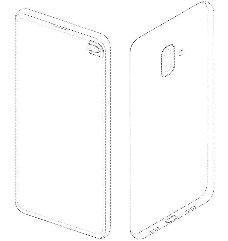 Патент раскрывает возможный дизайн смартфона Samsung Galaxy S10 Lite